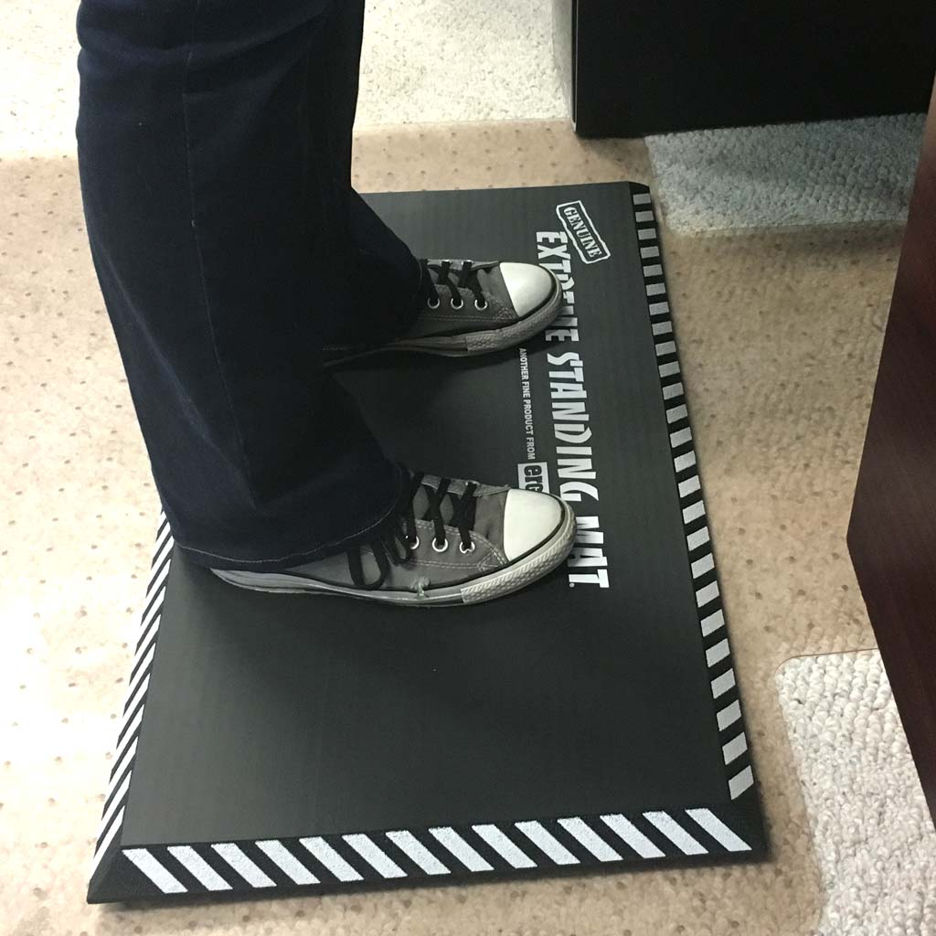 Extreme Standing Mat in Office Grey